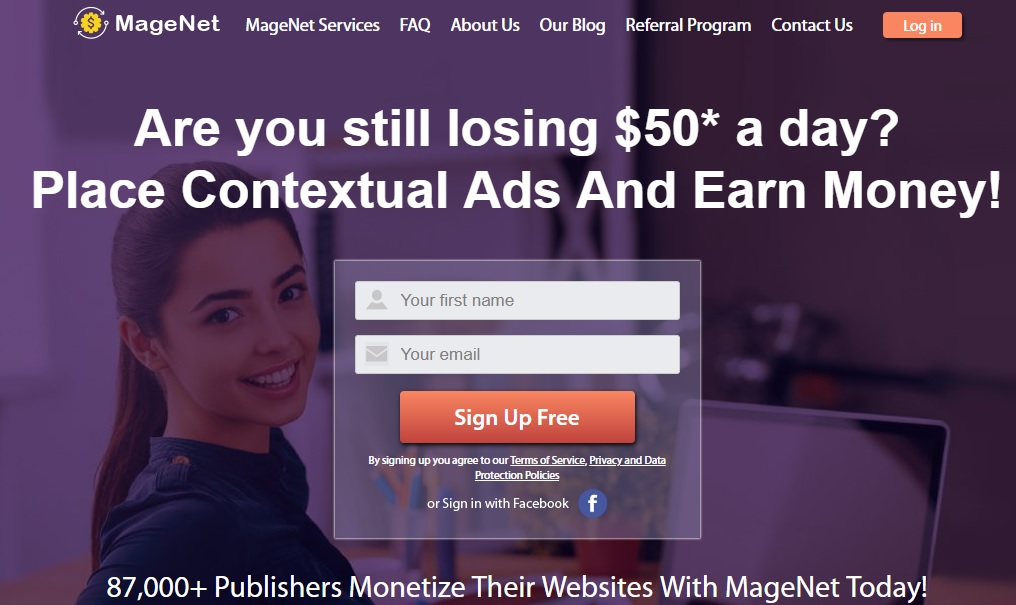MageNet is most reliable in-text ad network
