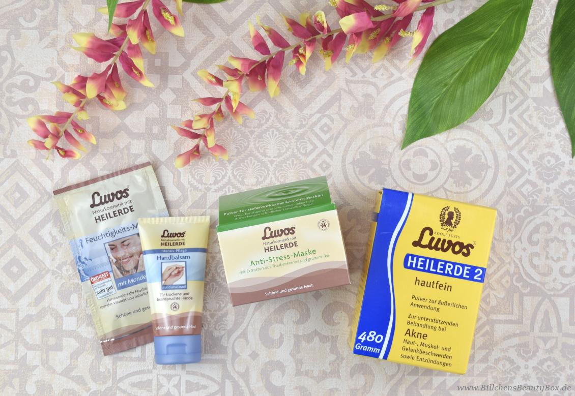 Luvos Heilerde - Gewinnspiel - Heilerde 2 Hautfein Pulver, Pulver Anti-Stress Maske, Waschcreme, Handbalsam, Feuchtigkeitsmaske
