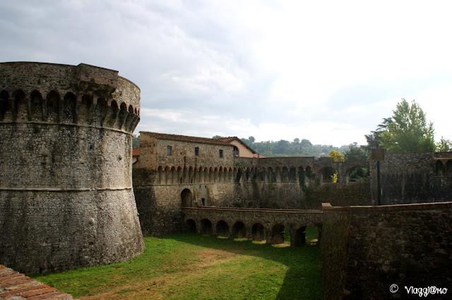 La Rocca Firmafede è uno dei due castelli di Sarzana