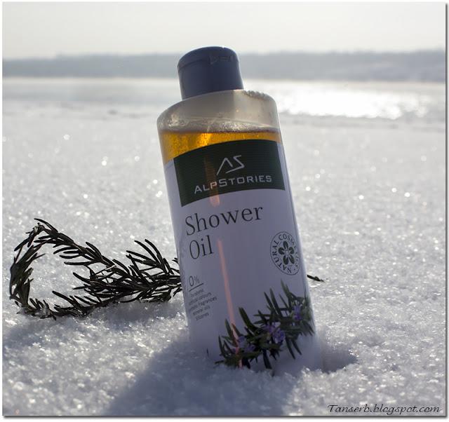 Масло для душа Розмарин AlpStories Shower Oil Rosemary