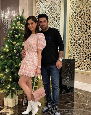 Aamna Sharif  husband