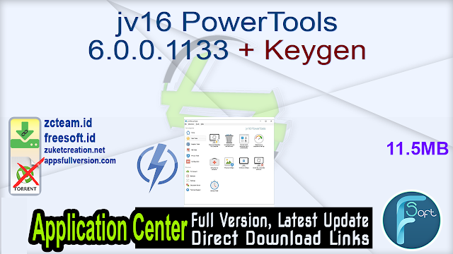 jv16 PowerTools 6.0.0.1133 + Keygen