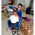 Photo: Tonto Dikeh prepares Andre for school