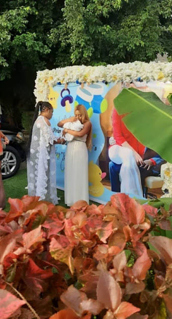 r5 - Images from Regina Daniels and Ned Nwoko's son naming ceremony...
