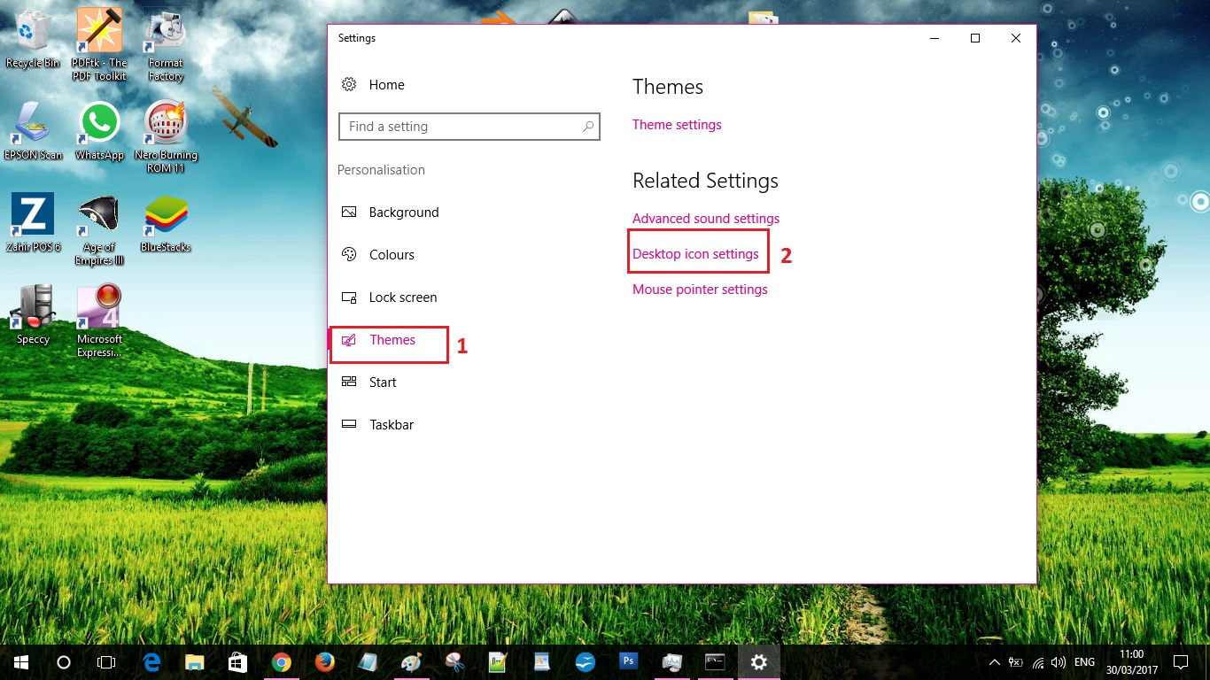how to change my computer icon in windows 10