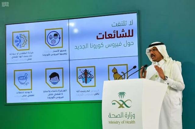 Health Ministry warns 7 most dangerous Categories of Corona virus Infection - Saudi-Expatriates.com