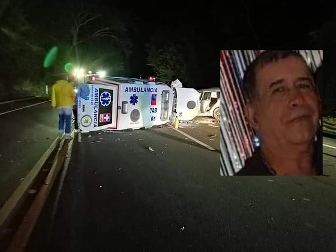 Como Luis Enrique Cataño fue identificado el conductor de la ambulancia que perdió la vida en accidente de tránsito en el túnel de irra