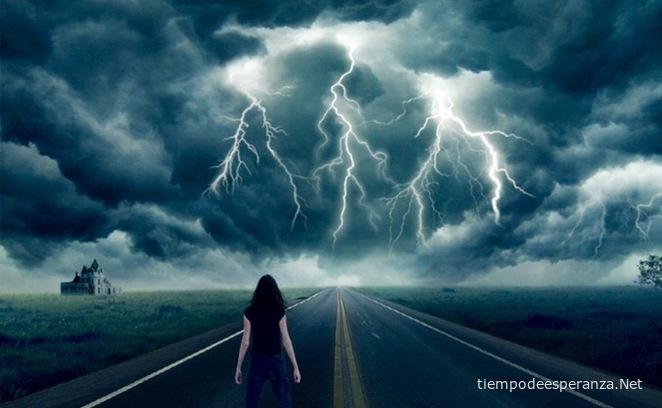 Enfrentando las tormentas de la vida.