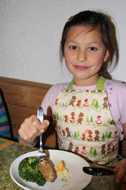selbstgekochtes Essen schmeckt den Kindern besonders gut