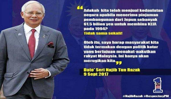 Menjawab 19 tohmahan tethadap DS @NajibRazak