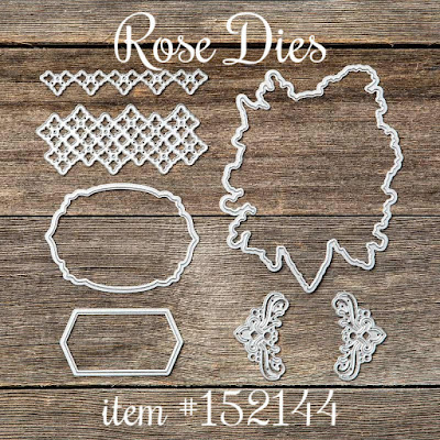 Rose Dies - Stampin' Up!'s Christmastime is Here Medley - item #152144
