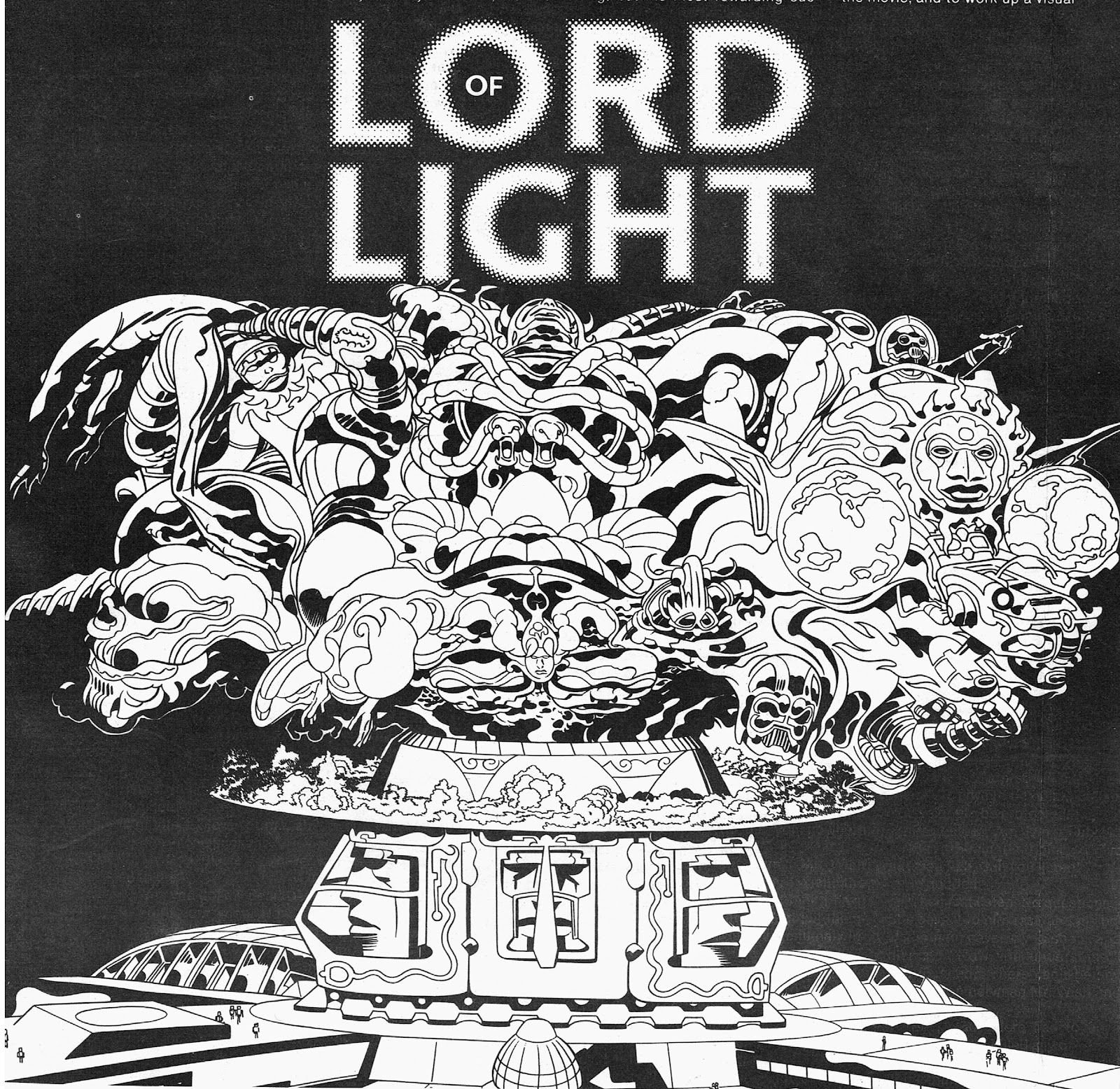 Cap'n's Comics: Argo, or Lord of Light, by Jack Kirby