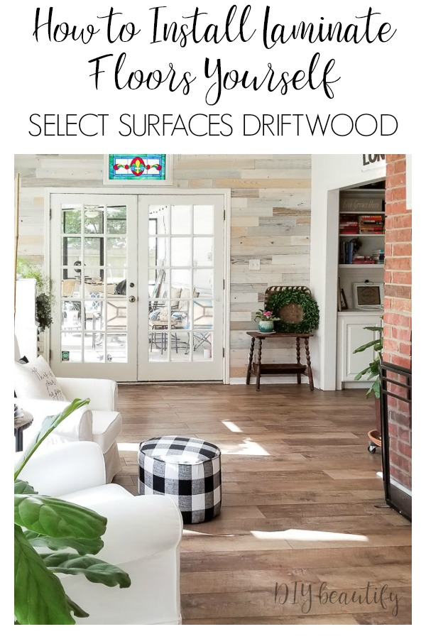 Affordable laminate floors from Sam's Club | DIY beautify