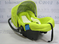 1 CocoLatte 2 in One Baby Car Seat and Baby Carrier