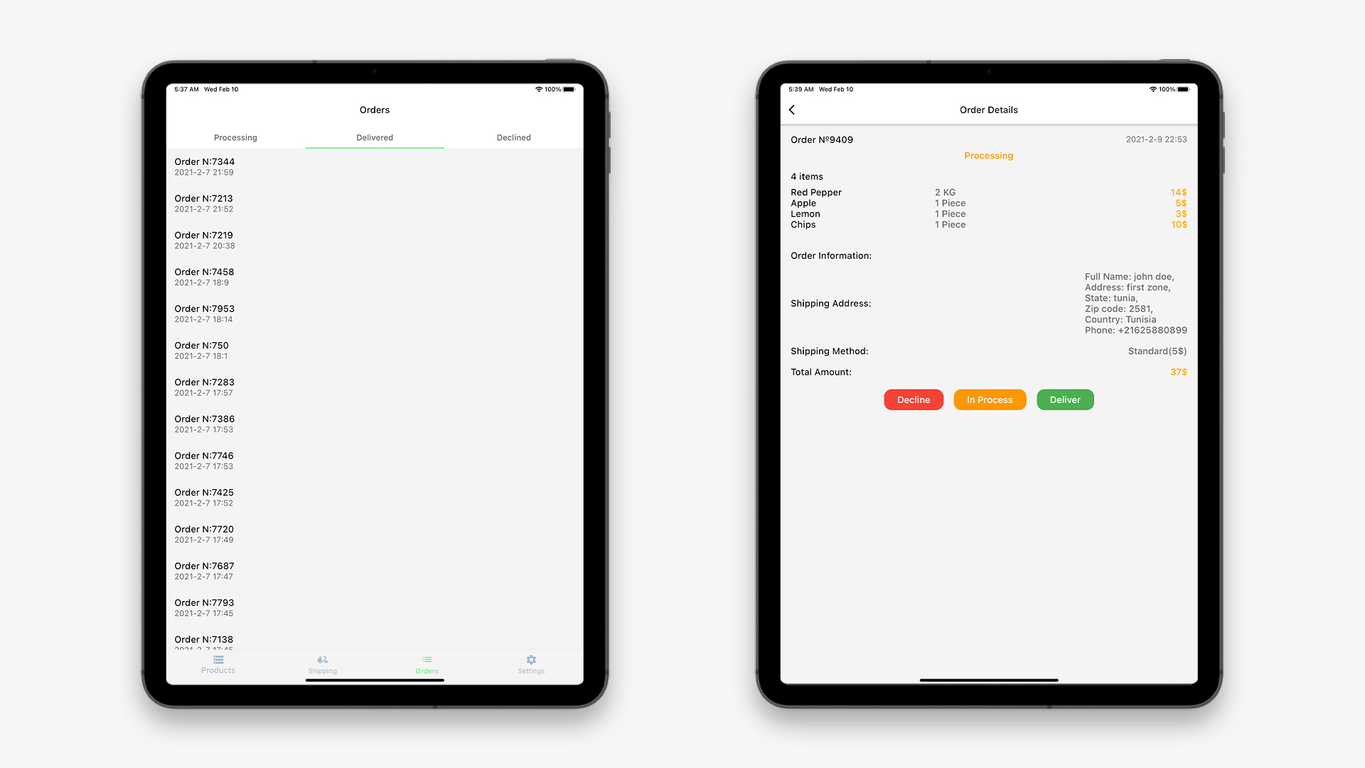 Flutter Grocery: Full Android + iOS eCommerce App - 27