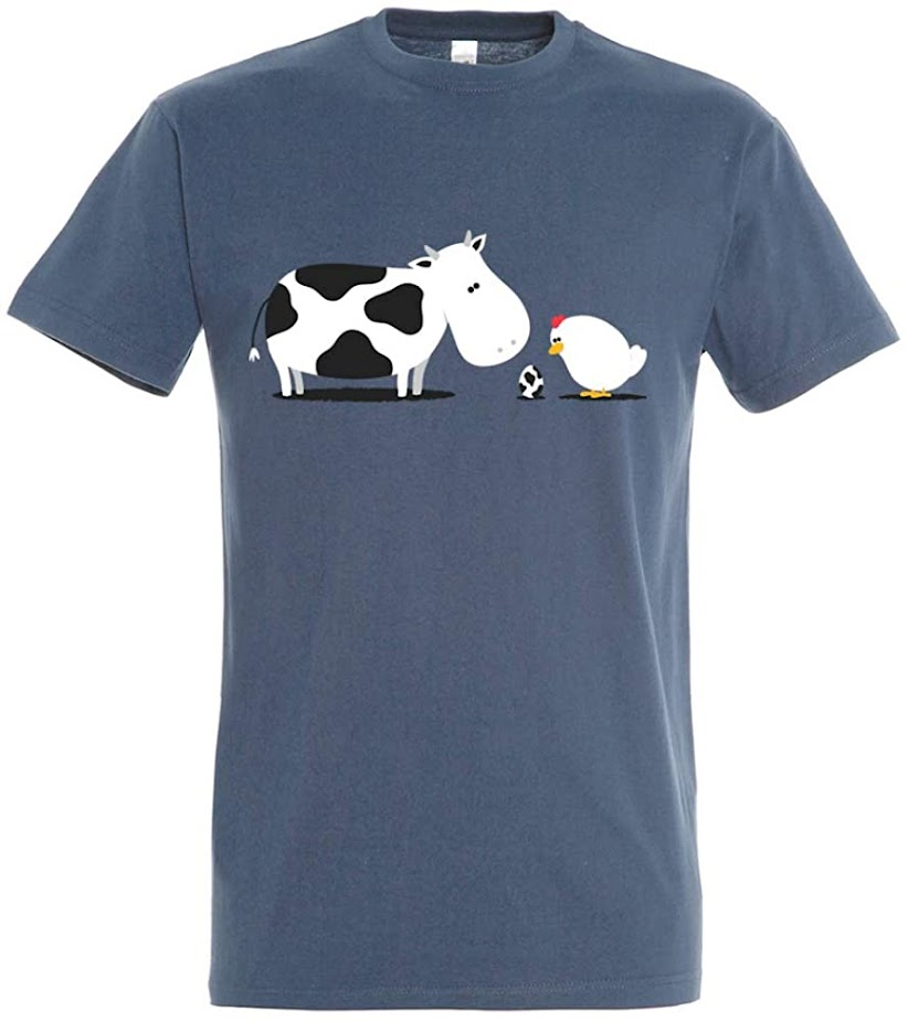 camiseta - pampling -  vaca - vacaslecheras.net