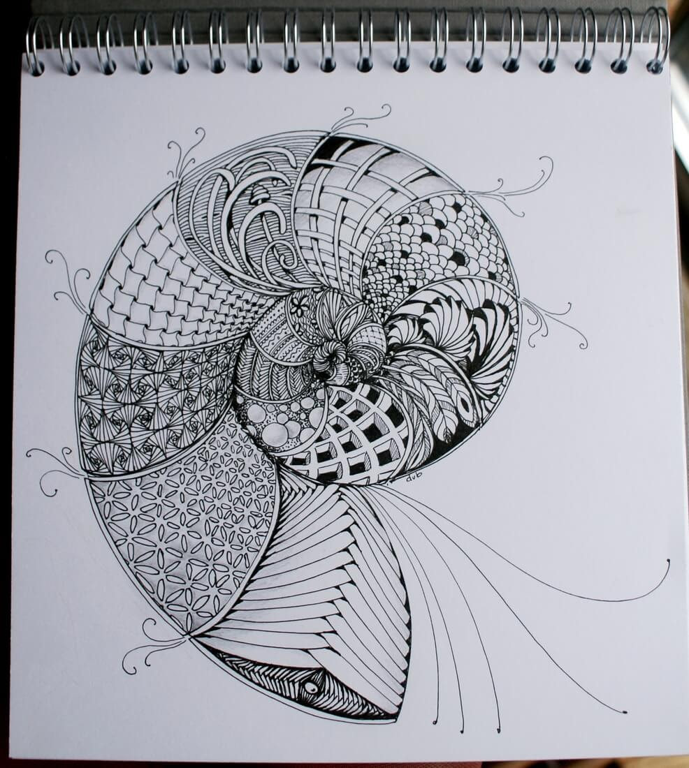03-Spiral-Deborah-Elaborate-Zentangle-Drawings-www-designstack-co