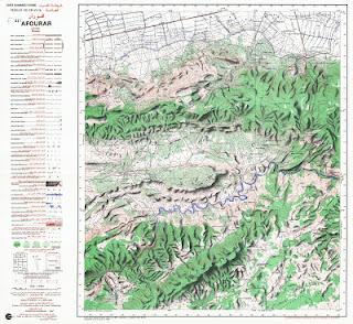 Telecharger la carte topographique afourar maroc 50000