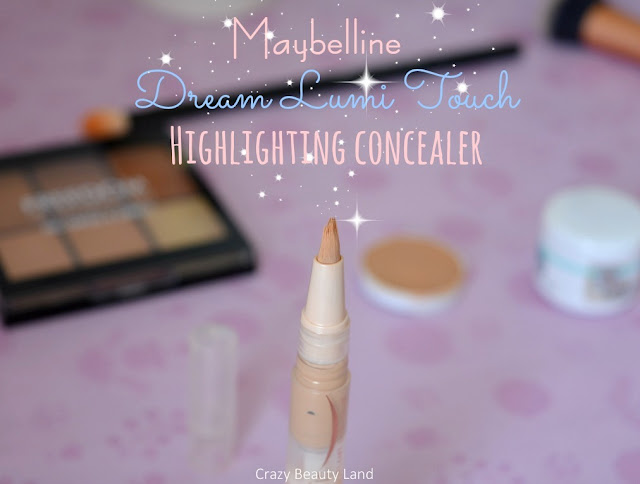 Maybelline Dream Lumi Touch Highlighting Concealer Honey Shades Review Swatches