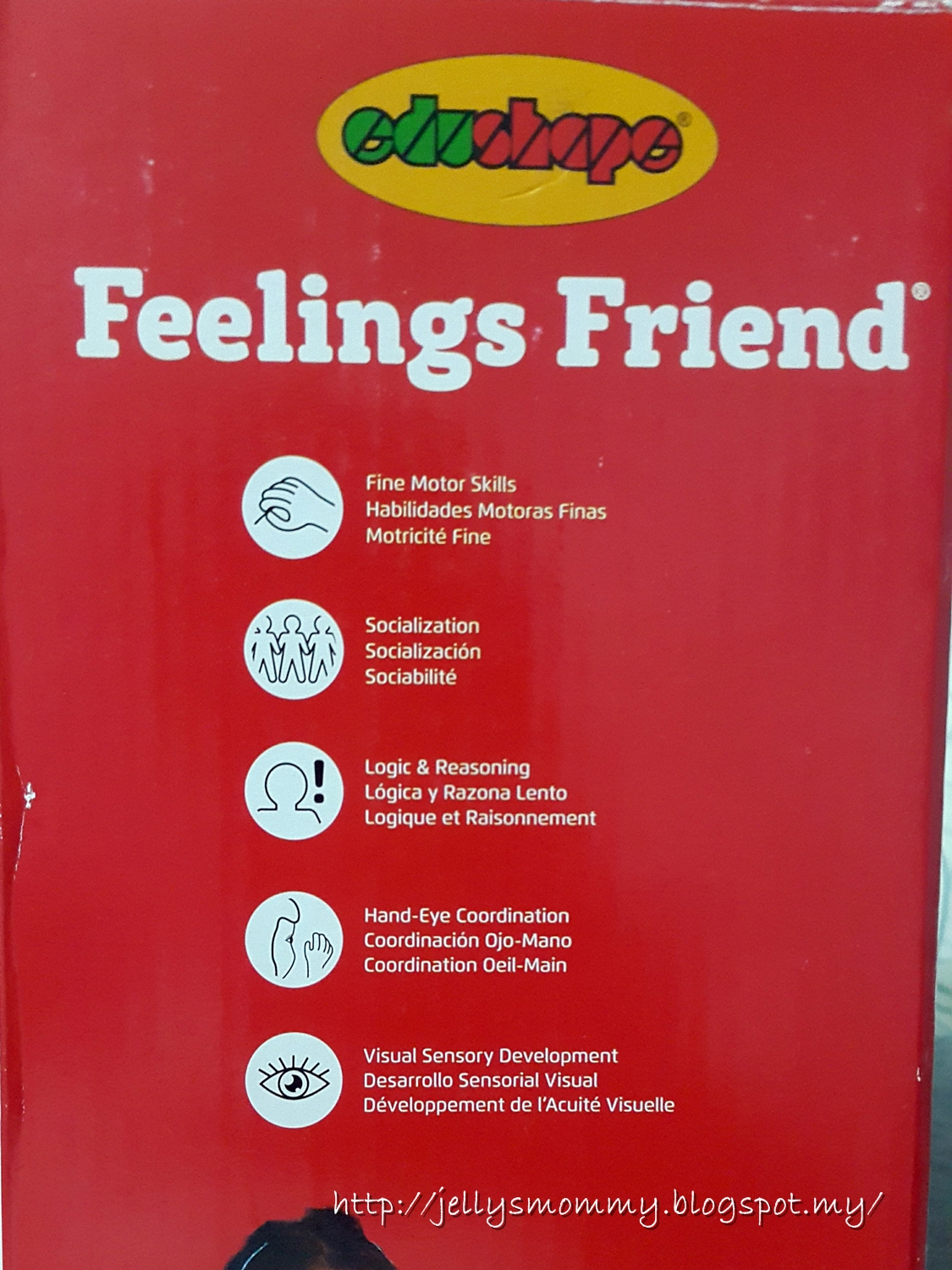 A little bit of Everything: Feelings Friend from EduShape Review