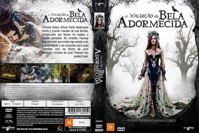 Capa DVD A Maldição da Bela Adormecida