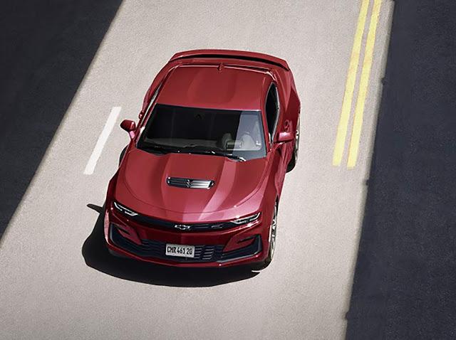 Chevrolet Camaro 2021 tem facelift e preço de R$ 378 mil