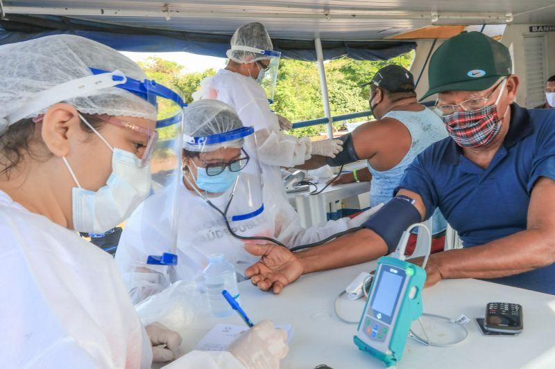 Governo realizará pesquisa com 27 mil testes rápidos da covid-19 em 8 regiões do PA