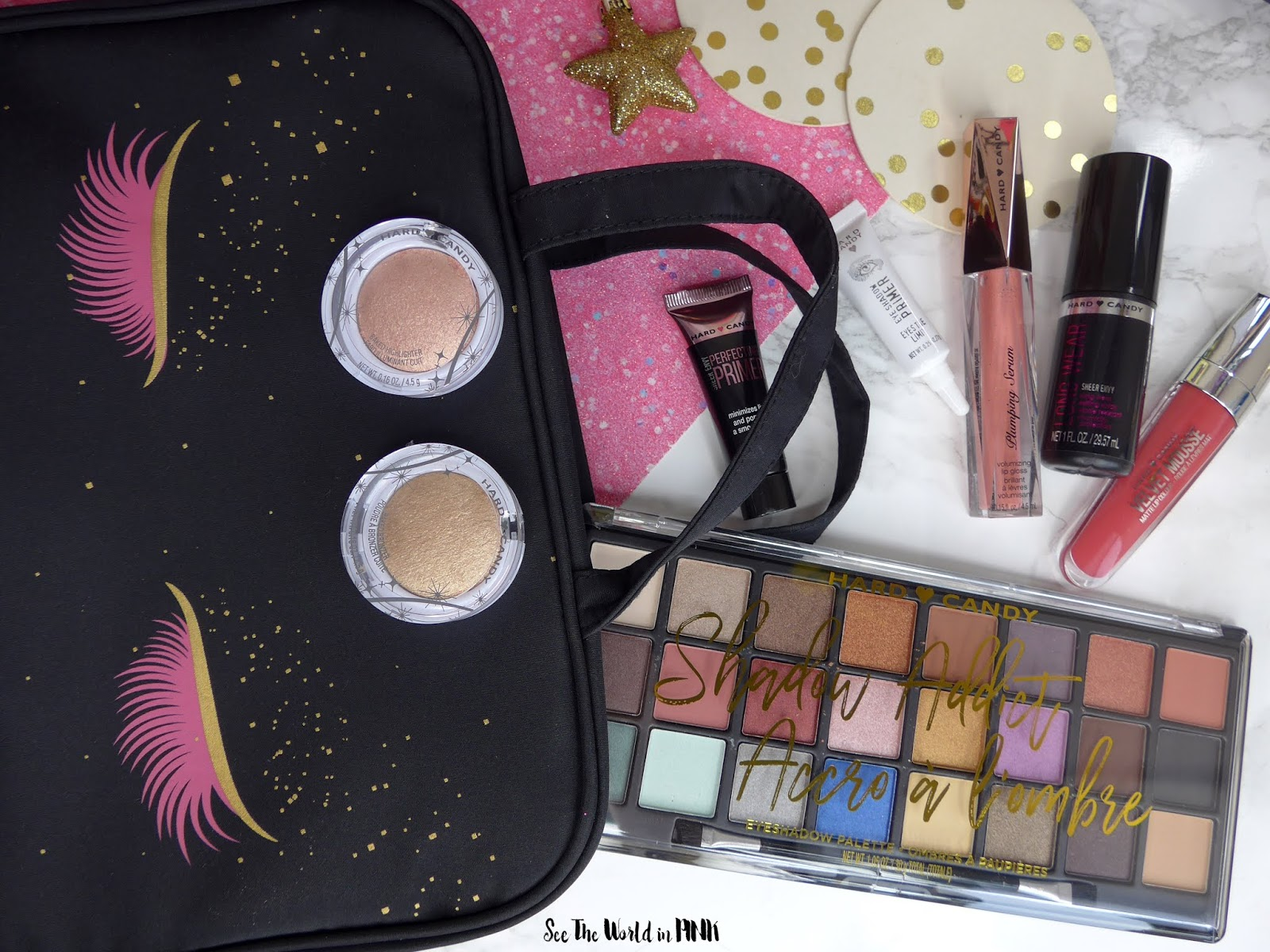 Hard Candy Holiday Set - My Bag of Tricks Travel Cosmetic