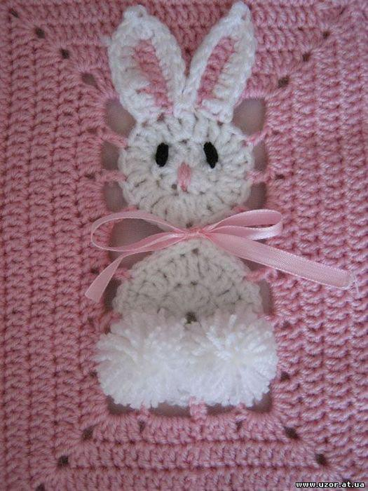 De mis manos tejidos y mas modelos de colchas para ni os - Aplicaciones de crochet para colchas ...