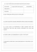Atividade A fada que tinha ideias; imprimir grátis PDF