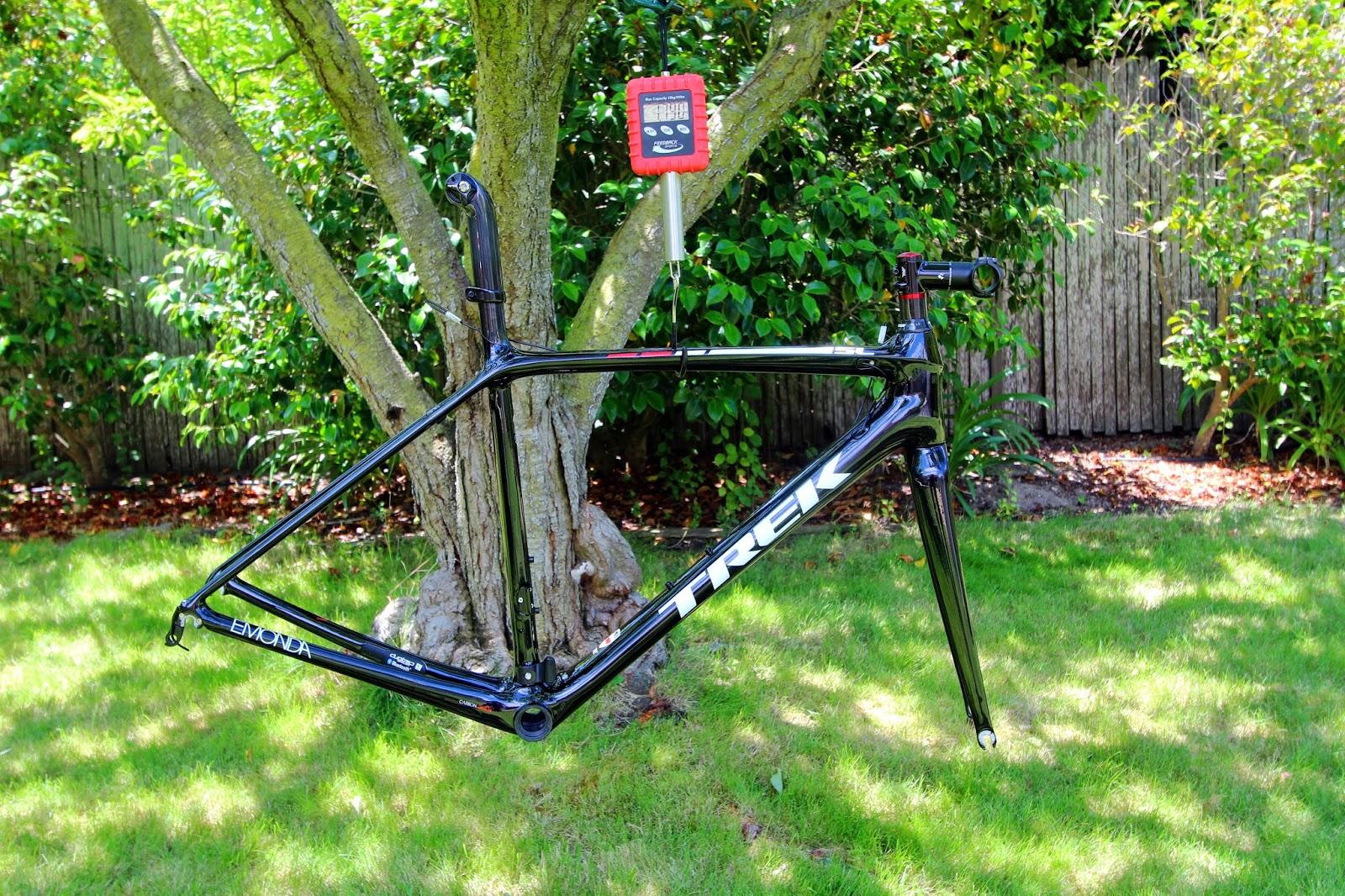 Bikestuff Weighed Trek Emonda Sl Frameset