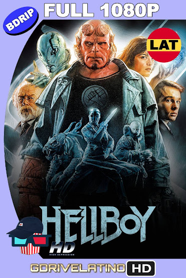 Hellboy (2004) BDRip 1080p Latino-Ingles MKV