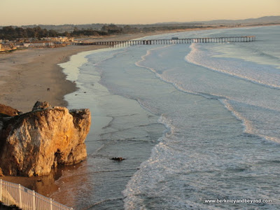 overview of Pismo Beach in California