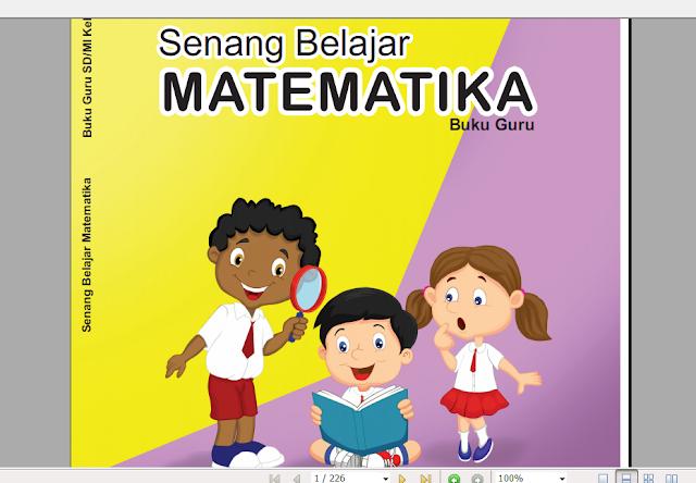 Download Perangkat Lengkap Buku Guru Matematika Kelas 4 SD MI Kurikulum 2013 Revisi Terbaru