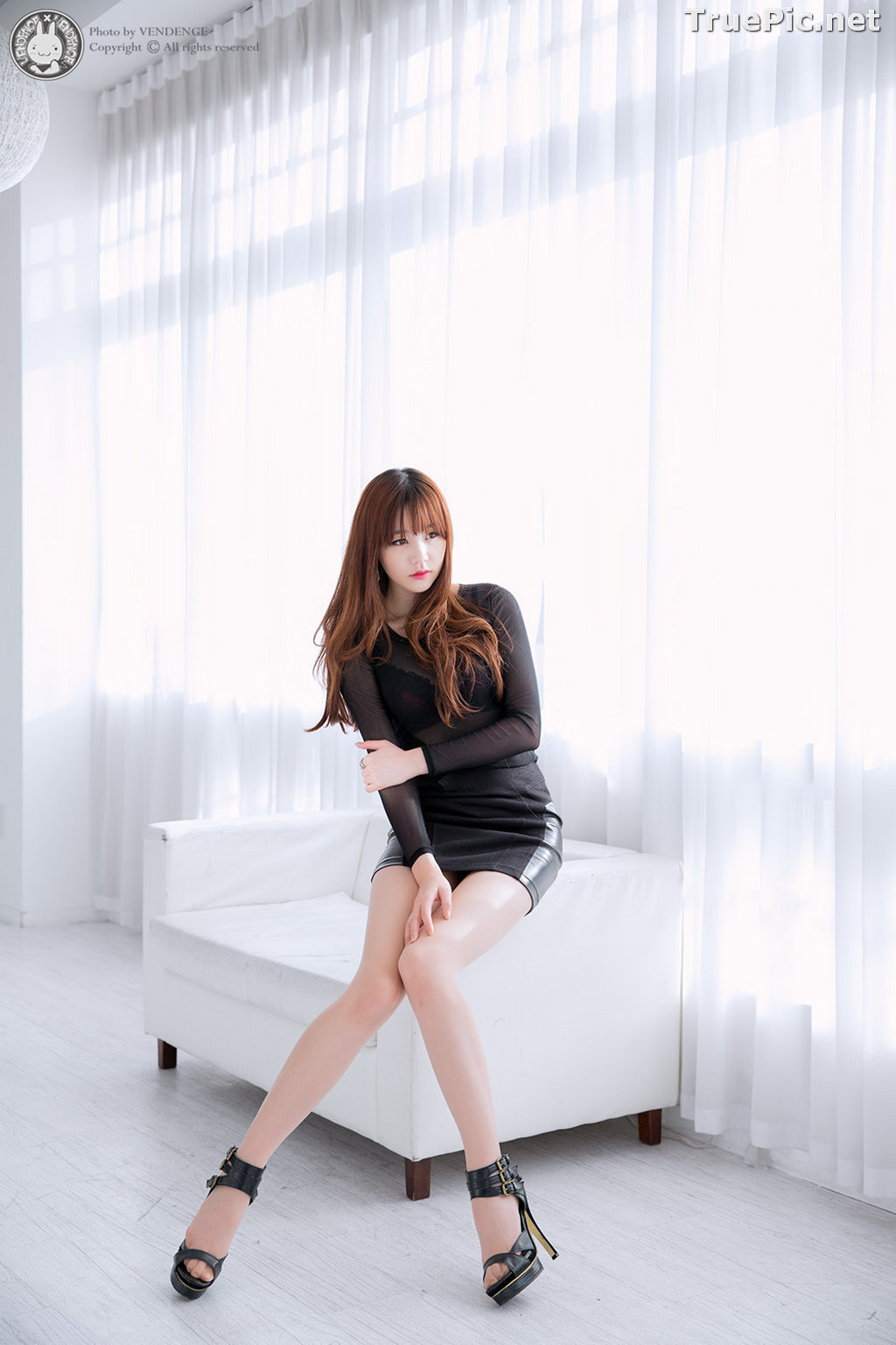 Image Korean Model - Hong Ji Yeon - Cute and Sexy In Studio - TruePic.net - Picture-7
