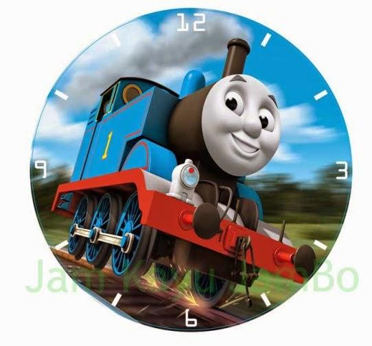 Jual jam dinding unik gambar karakter , bisa pesan custom