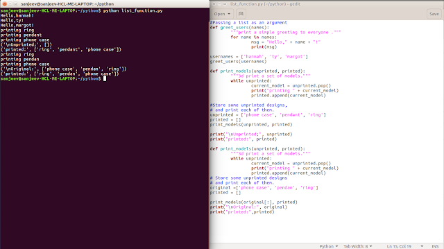 list function