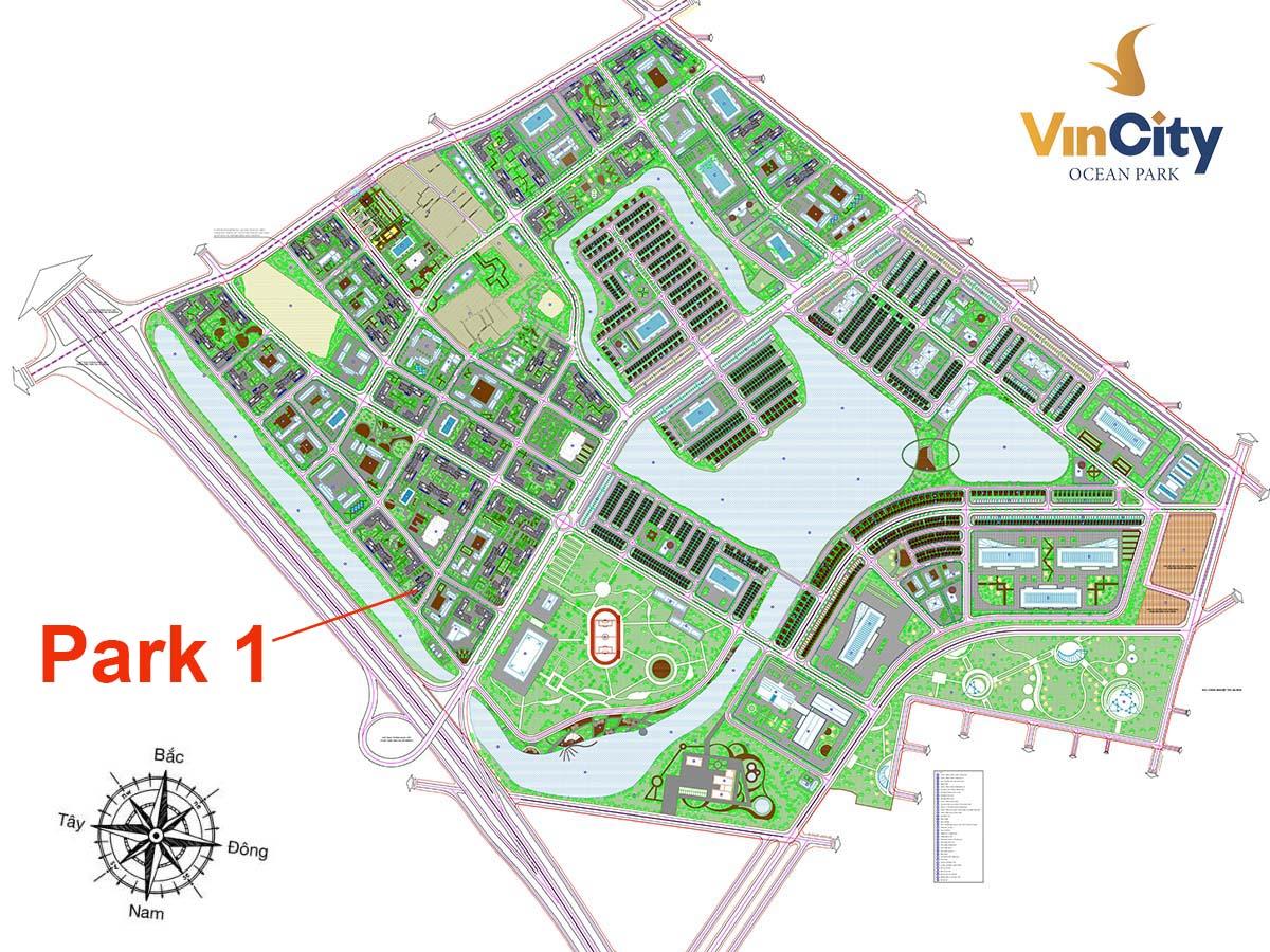 Tòa Park 1 VinCity Gia Lâm