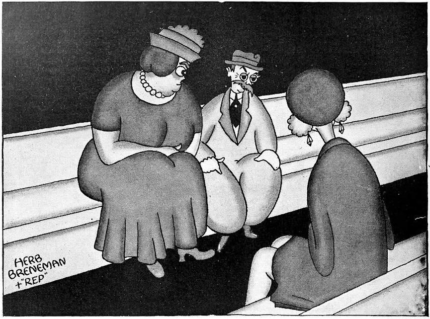 a 1928 Herb Breneman cartoon