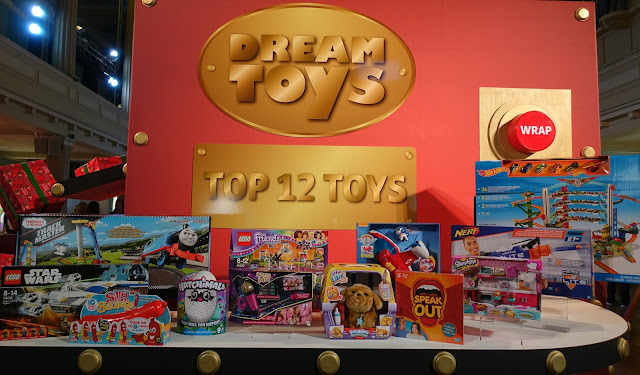 Image of the top 12 toys selected for Christmas 2016