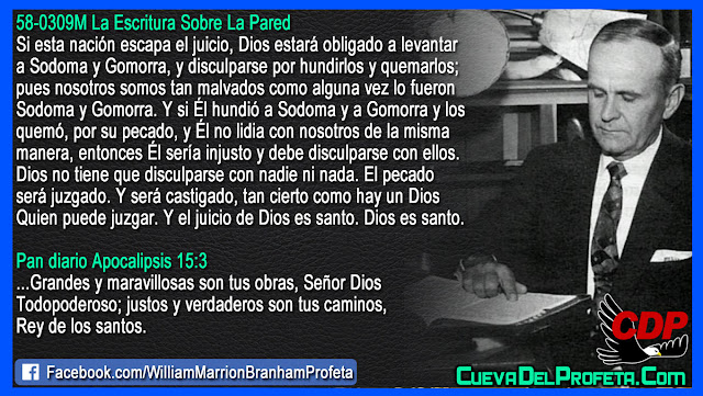 Él hundió a Sodoma y a Gomorra - William Branham en Español