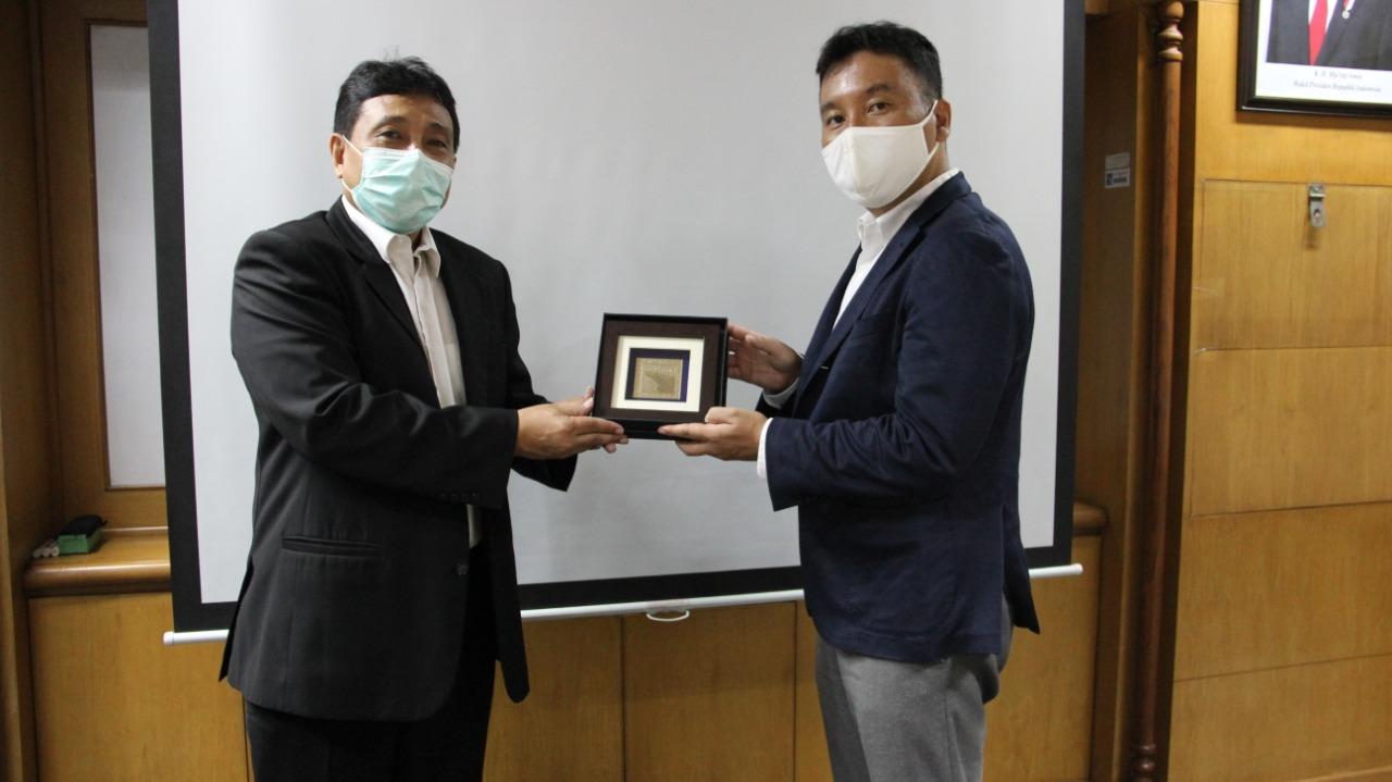 Kepala Kantor Perwakilan BP Batam di Jakarta Menyambut Presiden Direktur PT HTS Yang Menjajaki Untuk Berinvestasi di Batam