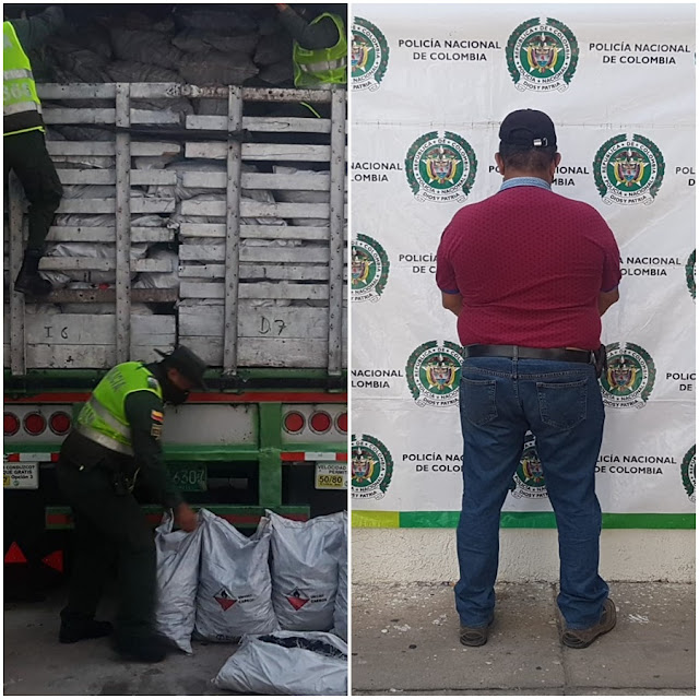 Capturado por transportar 1.350 bultos de carbón vegetal