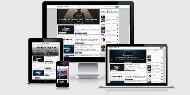 Share Template Star Tuấn IT Từng Sử Dụng V3.0 mới nhất
