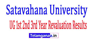 SU UG 1st 2nd 3rd Year Revaluation Results 2017