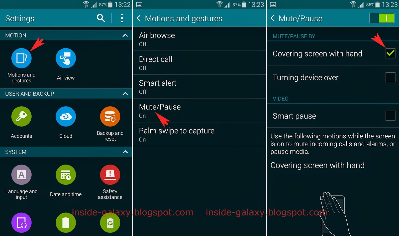Samsung Galaxy S5: How to Enable and Use Cover to Mute/Pause