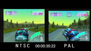 juego NTSC y PAL