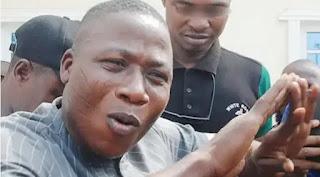 Sunday Igboho Ya Sharɓi Kuka Kamar Ƙaramin Yaro Da Muka Yi Magana a Waya, Lauyansa