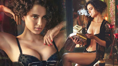 Kangana Ranaut hot boobs