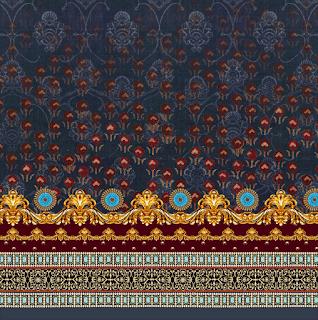 Saree-border-pattern-for-textile-print